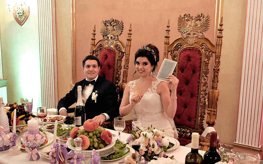 Хороший фокусник-это хорошая свадьба.